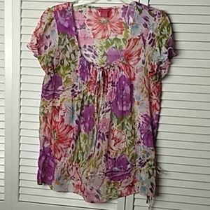 Sunny Leigh Women's Floral Top